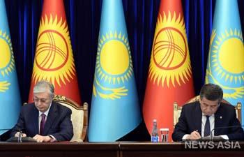 У Кыргызстана ряд новых двусторонних соглашений с Казахстаном - что изменится