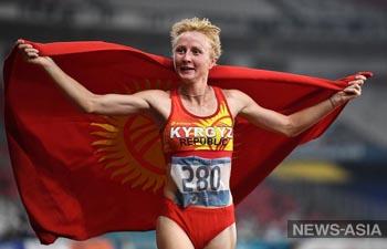 Легкоатлетка из Кыргызстана завоевала лицензию на Олимпиаду в Токио