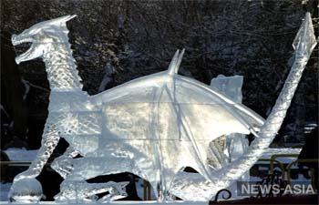 В Бишкеке проведут фестиваль ледовых скульптур