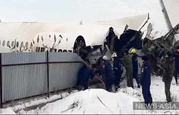 МАК расшифровал черные ящики рухнувшего под Алматы самолета Bek Air