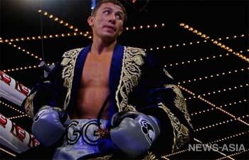 Бой звезды бокса из Казахстана Головкина трижды признали лучшим в мире