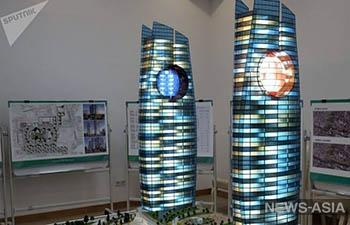 В Узбекистане появятся 50-этажные небоскребы-близнецы