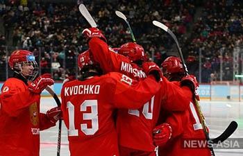 Хоккеисты России впервые победили на зимней юношеской Олимпиаде