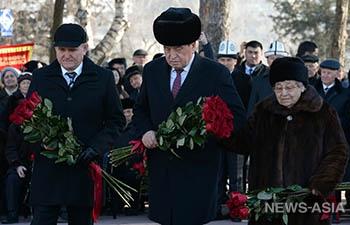 День снятия блокады Ленинграда отметили в столице Кыргызстана