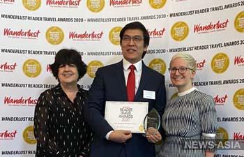 Кыргызстан в Великобритании признали «Лучшим развивающимся направлением» для туризма 2020 года