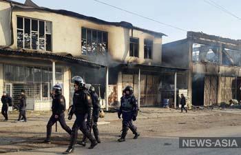 Во время беспорядков в Жамбылской области Казахстана были убиты 8 человек