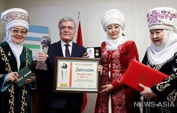 Глава Узбекистана Шавкат Мирзиеев признан в Кыргызстане «Человеком 2019 года»