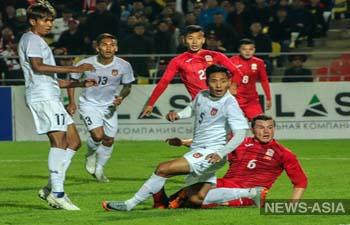 Рекордный матч Кыргызстана с Мьянмой (7:0) попал под подозрение ФИФА