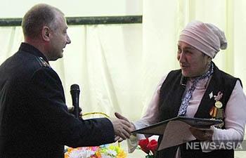 В Кен-Булуне прошел урок мужества с участием российских военнослужащих