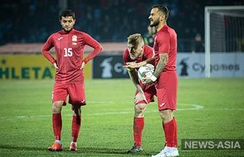ФИФА перенесла матчи сборной Кыргызстана в отборе на ЧМ – 2022