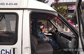 Передвижные приемные милиции курсируют по Кыргызстану
