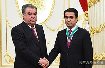 Сын президента Таджикистана стал вторым человеком во власти