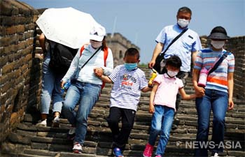 В Китае туристы забронировали 90% номеров, чтобы попасть к Великой Китайской стене
