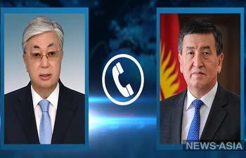Президенты Казахстана и Кыргызстана обсудили коронавирус и границы