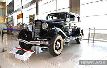 В Кольцово выставлен автомобиль времен Великой Отечественной войны