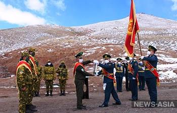 Эстафета Победы перешла Таджикистану