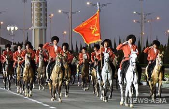 Туркменистан единственным в Центральной Азии провел парад к 75-летию Победы