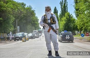 В Кыргызстане 65 милиционеров заразились COVID-19