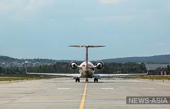 В аэропорту Кольцово завершены работы по обновлению разметки на аэродроме