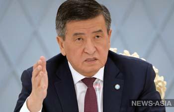 За две недели до коронавируса: где появлялся без маски президент Кыргызстана?