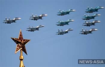 В Москве состоялся военный парад, посвященный 75-летию Победы