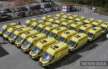 Свердловская область получит 58 новых машин скорой помощи до конца июля