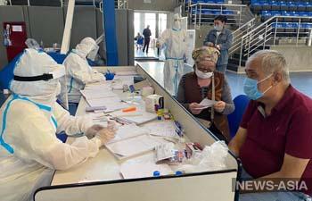 За  6 дней муниципальные стационары Бишкека приняли более 8 тысяч человек