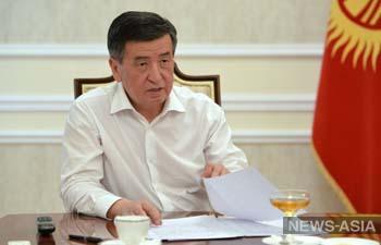 Президент Кыргызстана дал откровенное интервью про коронавирус и выборы