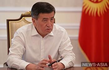 Президент Жээнбеков: закон «О манипулировании информацией» нужен, но его надо доработать