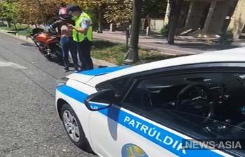 В Алматы полиция объявила войну мотоциклистам и ночным гонщикам