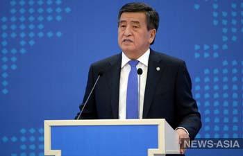 Президент Кыргызстана отправился в Иссык-Кульскую область, где ухудшилась эпидемситуация