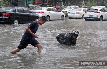 Китай в августе накроют тайфуны