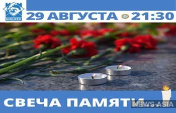 Бишкек почтит память погибших от коронавируса и внебольничной пневмонии