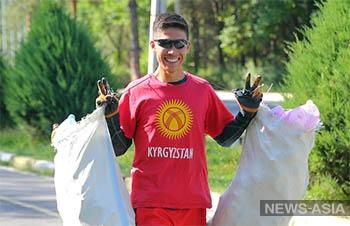 Триатлонисты провели экологическую акцию в преддверие Всемирного дня чистоты