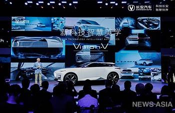 В Китае проходитМеждународный автосалон-2020