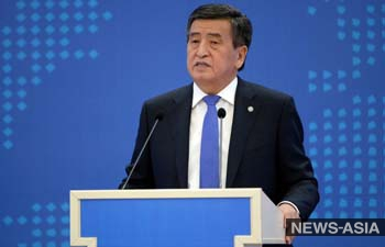 Сооронбай Жээнбеков: Я сделаю все, чтобы сохранить мирную жизнь граждан и целостность страны