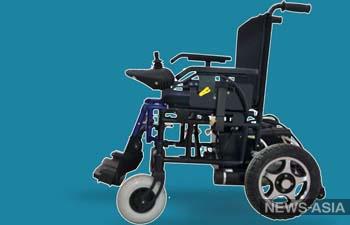 В Казахстане начали производить отечественные инвалидные коляски с электроприводом