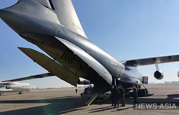 В Бишкек прибыл гуманитарный груз из Республики Узбекистан