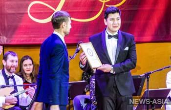 Кыргызстанец Исламбек Кемелов завоевал приз зрительских симпатий на «Романсиаде» в Москве