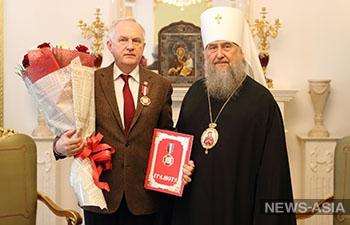 Выдающиеся врачи страны удостоены высоких наград Православной Церкви Казахстана