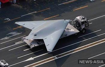 В сети появилась первая фотография нового китайского разведывательно-ударного БЛА