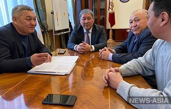 Новый и.о. мэра Бишкека приступил к работе