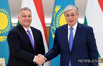 Венгрия и Казахстан обсудили развитие сотрудничества