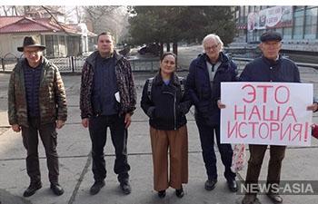 В Бишкеке провели акцию в память о Красной Армии