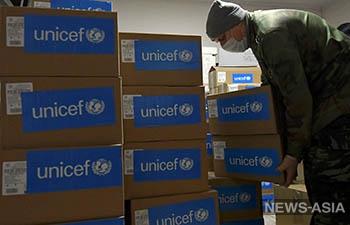 ЮНИСЕФ выделил Кыргызстану на борьбу с COVID-19 12 миллионов сомов