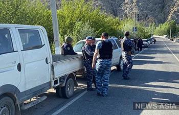 Конфликт на кыргызско-таджикской границе: есть раненные