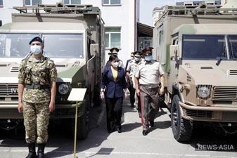 Китай выделил Кыргызстану новое военно-техническое оснащение