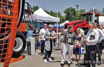 На выставке AgroExpo Uzbekistan 2021 начала работу российская экспозиция