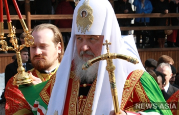 Патриарх Кирилл пригласил избитого русского мальчика на Иссык-Куле в Москву
