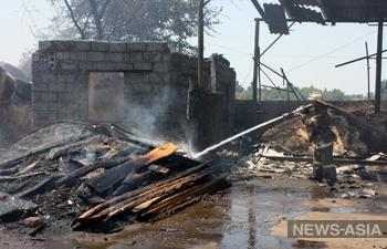 В пригороде столицы Киргизии прогремел взрыв